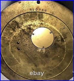 Baker Lyman & CO Houston Chelsea Ships Bell Clock Barometer Key Vintage Working