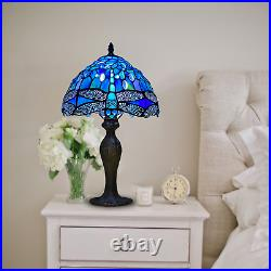 Blue Tiffany Stunning Quality Style Hand Crafted 10 Glass Table/Desk Lamps UK