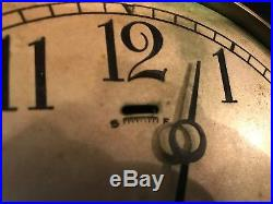 Brass 8.25 Chelsea Ships Bell Clock from ship 6 Dial S/N 139600 1920-1924 WOW