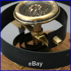Brass Claverley Front Door Bell Pull & Bell