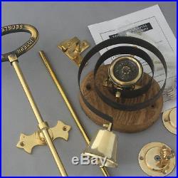 Brass Front Door Bell Pull & Bell