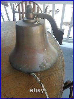 Bronze perko fog bell rare 12 brass yacht sailboat sail 150-12