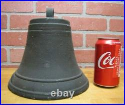 CALIFORNIA Old Bell Bronze Brass Mission Church State Embossed Lettering Patina