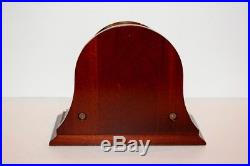 CHELSEA ANTIQUE SHIPS BELL CLOCK 4 1/2 DIAL Circa 1920s RED BRASS RESTORED