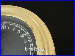 CHELSEA SHIPS BELL 24 HOUR CLOCK 4 Black DIAL 1981