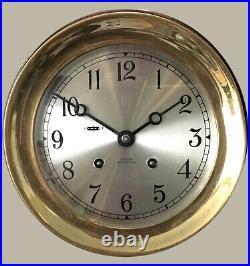 Chelsea 6 Ship Bell Clock