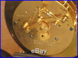 Chelsea Antique Ships Bell Clockadmiral Model6 In Dial1929bronzed Brass