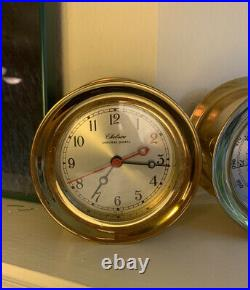Chelsea Bell Clock & Barometer For Boats And Ships