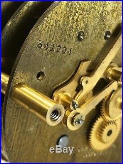 Chelsea Mariner Clock 3 3/4 Dial Presentation Ship's Bells 1948