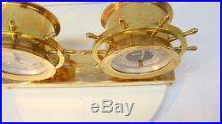 Chelsea Ship Bell Clock And Barometer. Claremont