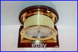 Chelsea Ship's Bell Commodore Clock Antique Circa 1920s