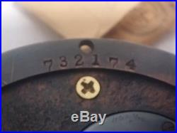 Chelsea Ships Bell Barometer Set Bronze Finish