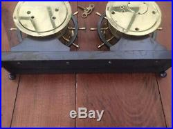Chelsea Ships Bell Clock And Barometer, The Claremont, Boston