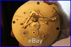 Chelsea Ships Bell Clock & Barometer/thermometer Nickel Plated Antique Ca 1927