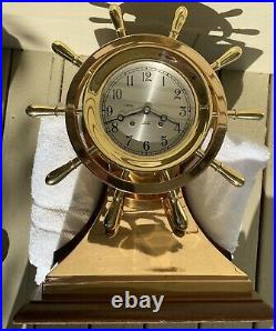 Chelsea Ships Bell Clock Mariner 6 Dial Ca. 1977