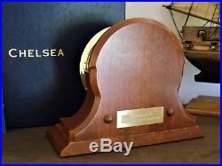 Chelsea Ships Bell Presidential Clock in Brass Finish