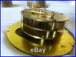 Chelsea US Maritime Ship's Bell Clock Hinged Bezel Brass Case 6 Inch Dial