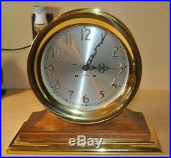 Chelsea's Ships Bell Clock 8 Dial Excellent Condition