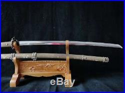 Collectable Japanese Samurai Sword Katana Sword Warriors&Belle Saya Brass Sheath