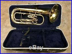 Conn 14I Euphonium 3 Valve Bell Front 3V Baritone Brass