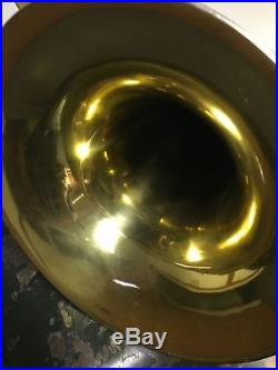 Conn Silver and Gold Four Valve Double Bell Euphonium all Original