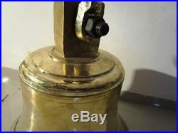 EXTRA LARGE MARINE BRASS Bell HEAVY 105 Kilo RARE (1606)