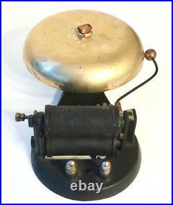Gamewell Fire Alarm Telegraph Co New York Fire Alarm Brass Tap Bell Antique