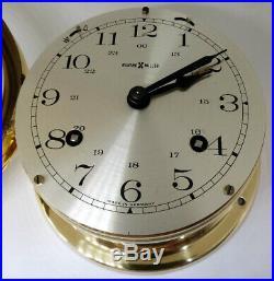 Howard Miller Ship's Bell Brass Clock