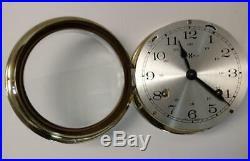 Howard Miller Ship's Bell Clock Germany Movement- Brass Case
