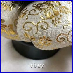 Japanese Buddhist Chanting Bell ORIN Temple Wear ø12cm Experience the Sound