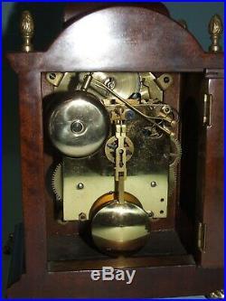 John Smith London 8 Day Bracket/Mantle Clock, Pendulum, Moon phase, 2 Bells