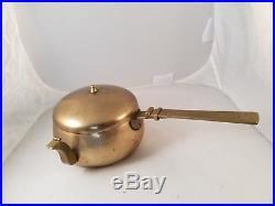 Korean Yi Dynasty bell brass Herb medicine dispenser