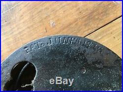 Large Antique Victorian Era 1872 Corbin Crank Door Bell works with orig screws