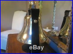 Locomotive Bell EMD Brass Locomotive Bell Brass Locomotive Bell