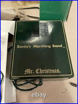 Mr Christmas Santa's Marching Band 8 Soldier Bells Plays 35 Christmas Songs