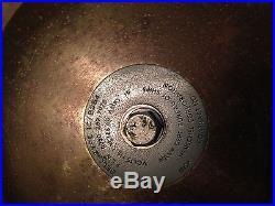 Navy Ship Bell Brass Bronze 115 V Henschel Electric Alarm 1960s