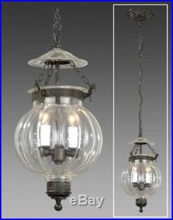 New England Bell Jar Lantern Hall Light Prince Pumpkin Miniature Ceiling Fixture