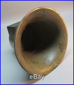 ORIGINAL SANTA FE RAILROAD Brass Pay Car Bell 70 lbs. Pre-1900 antique