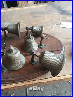 One Set Antique Bronze Tuning Bells For Musical Instruments