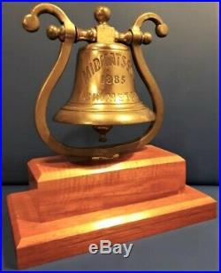 Original Brass Ships Bell, Free Shipping Worldwide