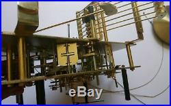 Original Kieninger 9 Bell Longcase GRANDFATHER CLOCK MOVEMENT 116 cm 29,9-8 80K