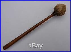 Original Rare 19th Century or Earlier Japanese Dragon Gong with Stick Mallet