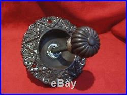 Original Victorian Decorative Brass Front Door Bell Pull