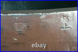 Orin finest Japanese Brass Buddhist Bell Extra Large W34×H28cm Antique Japan