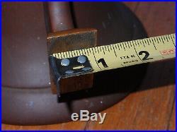 PERKO 8 BRASS / BRONZE 150-8 SHIPS 9 lb FOG BELL With CLANGER & LANYARD