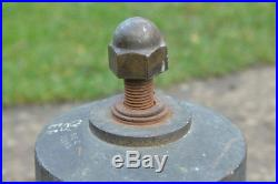 Queen Elizabeth large brass Bell E. R. 1952.'Green Goddess' Fire FREE DELIVERY