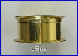 RARE AUTHENTIC Antique Chelsea Ship Bell Brass Clock 6