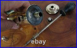 RARE Antique Collectible Brass Hotel Motel Room Air Deodorizer Service Sprayer