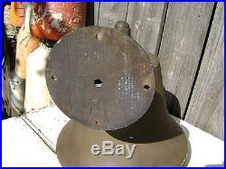 Rare 12 Inch Perko Bronze Brass Fog Signal Bell Ship Boat Yacht Sailboat Sail