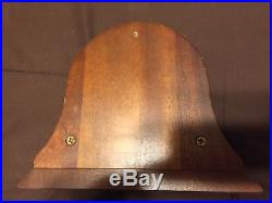Rare Mint Vintage 4brass Chelsea Marine Mechanical Ship's Bell Clock